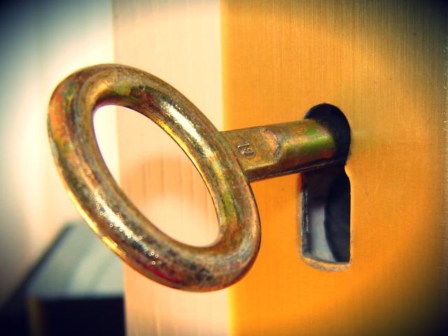 chiave e serratura